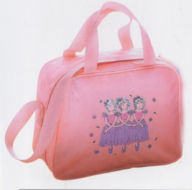 dance bag with decoration
