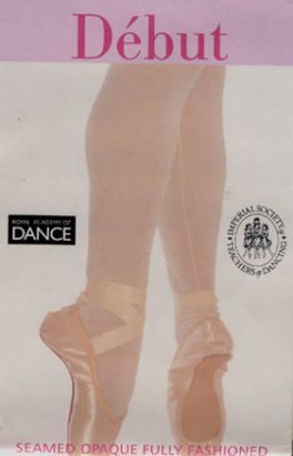 ballet tights pink or white