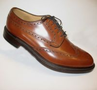 Loake tan leather goodyear welted sole