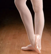 ballet tights for practice pink or white