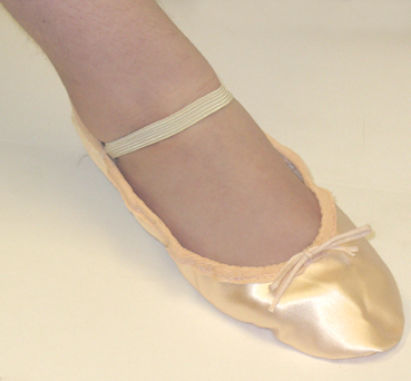 ballet shoes with suede sole adults