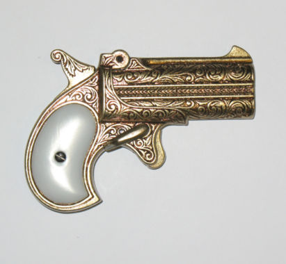 Replica weapons Derringer hand gun