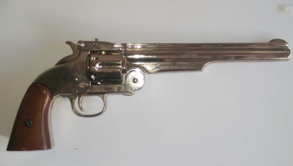 gun smith and wesson hand gun replica