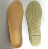 Cushioning insole support for shoes