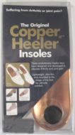 copper shoe insole and foot support