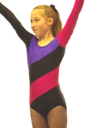 leotard for gymnastic performance activities