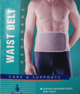 waist and back support belt