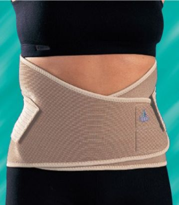 support belt for lower back to aid discomfort relief