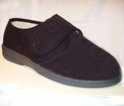 Men's foot form fit slipper shoe