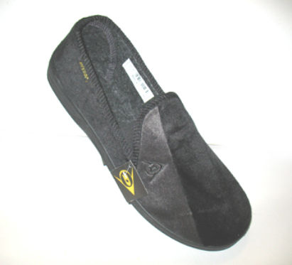 mens slippers wide fitt dunlop now on sale