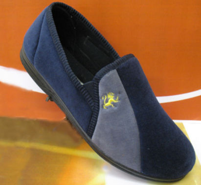 Mens style slippers in large sizes