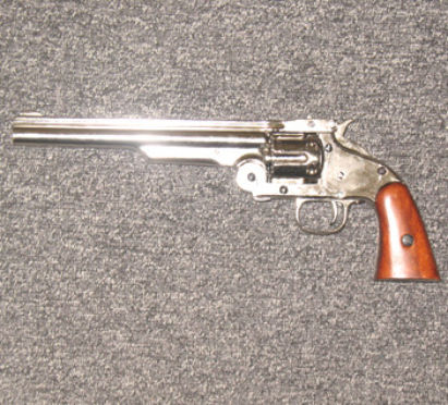 smith and wesson six shot replica