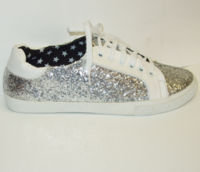 Silver shoe star lining last few now on sale