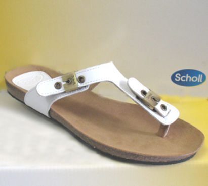 Ladies original bimini sandal white from scholl