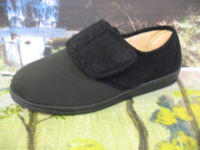 Slippers for ladies easy fit velcro fastening