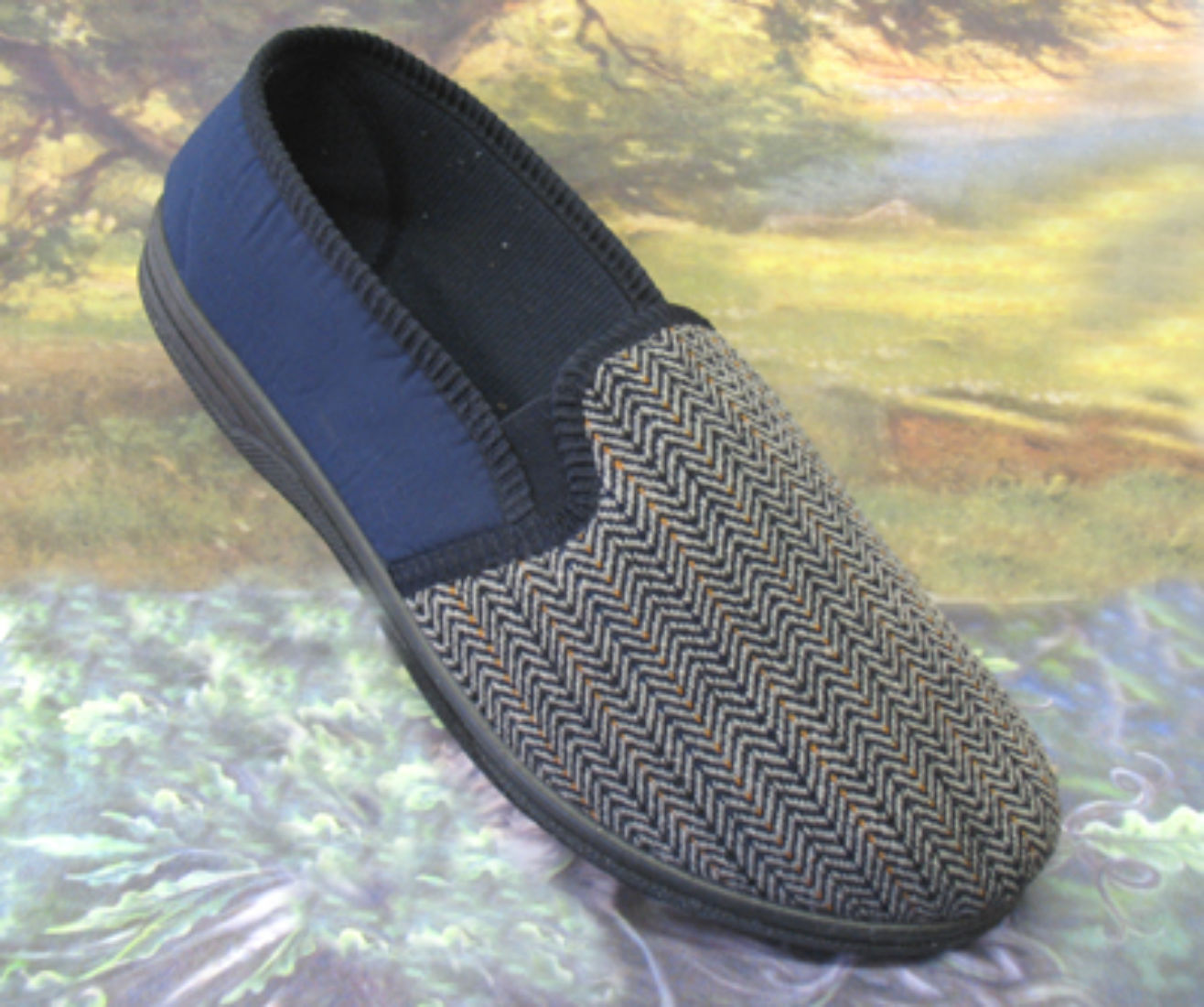 Mens slippers,