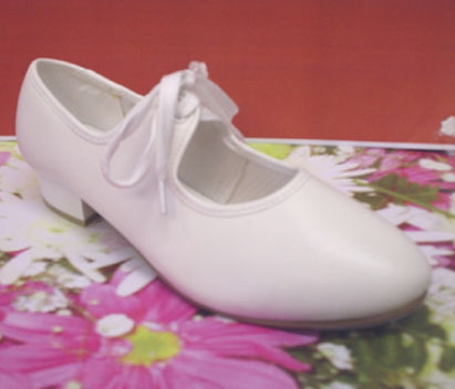 Tap dance shoes in white free shipping